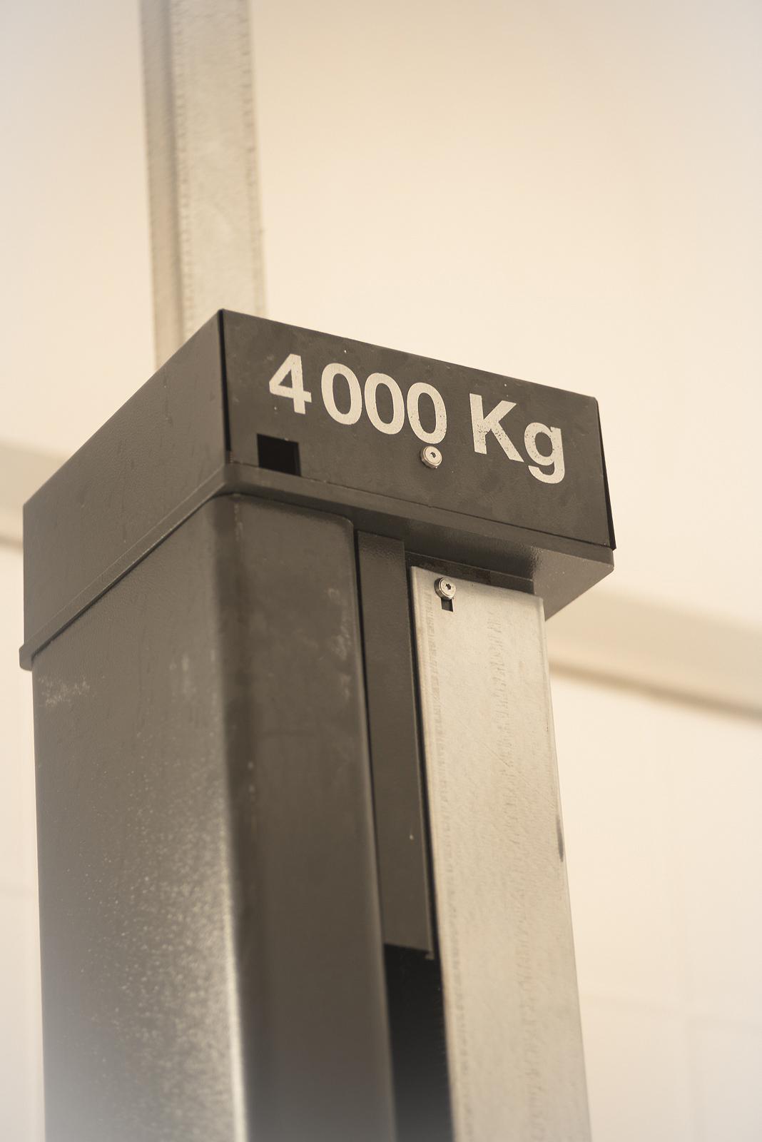 Bühne mit 4000kg Traglast!