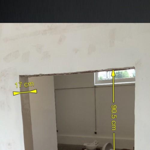 Durchbruch / Kundenraum